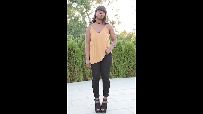 alyssa black pants 4