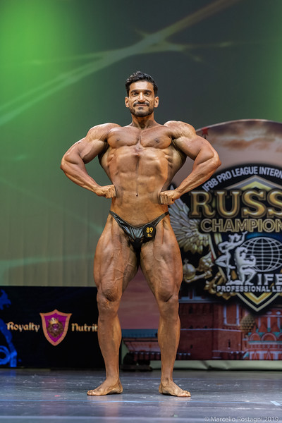 5th Place 89 Oveis Omrani Hengami