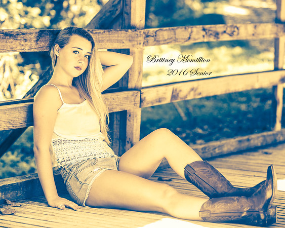 Britney McMillion  2016 Senior pics