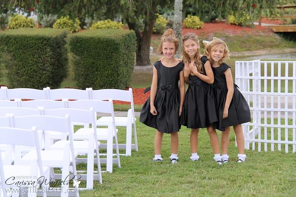 Family Photos and Ceremony
