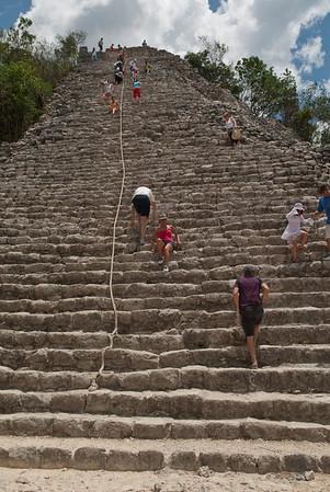 Maya Ruins at Coba, Mexico