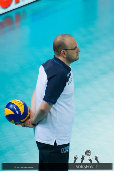 Mauro Berruto - Italia-Iran, World League 2013 - Modena