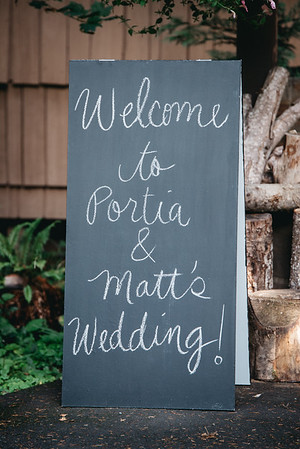 Matt & Portia Wedding