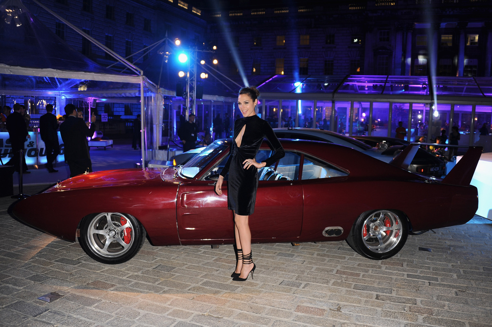 ". Actress Gal Gadot attends the ""Fast & Furious 6\"" World Premiere after party at Somerset House on May 7, 2013 in London, England.  (Photo by Stuart C. Wilson/Getty Images for Universal Pictures)"
