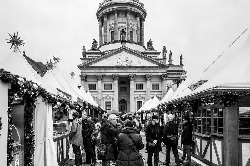 Christmas market on Gendarmenmarkt, Berlin