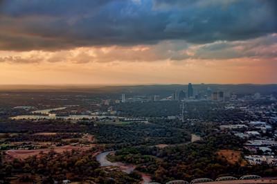 Aerials Above Austin