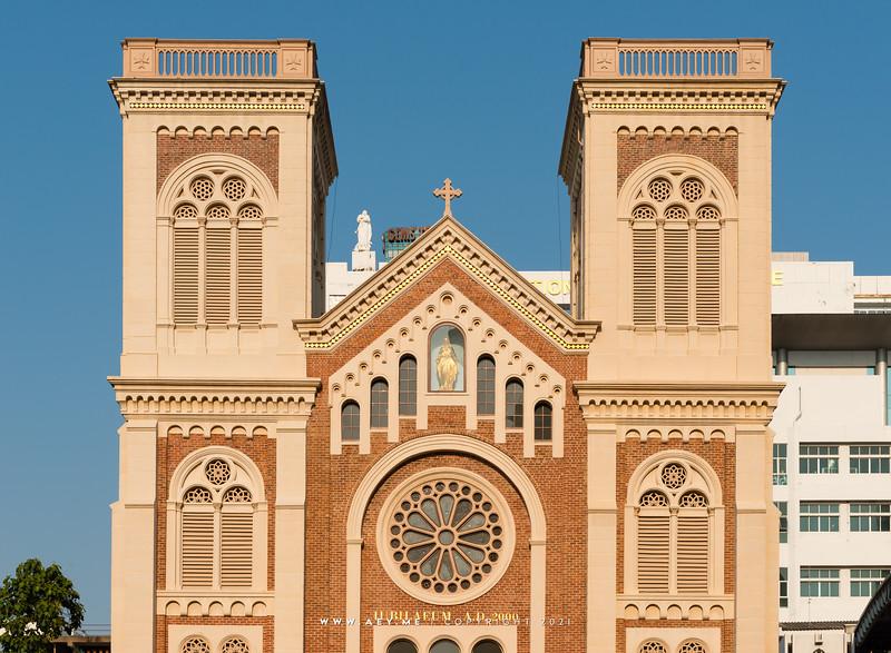 Assumption Cathedral, Bangkok (Exterior)