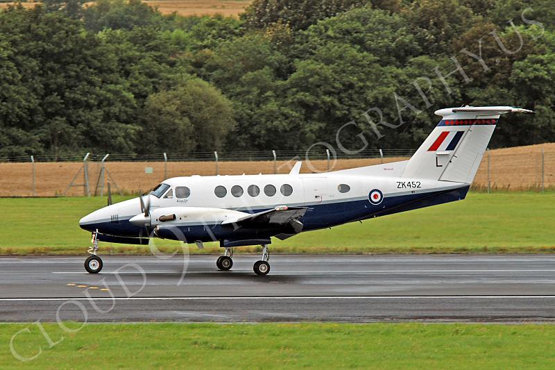 Beech King Air 00001 British RAF ZK452 by Alasdair MacPhail.JPG