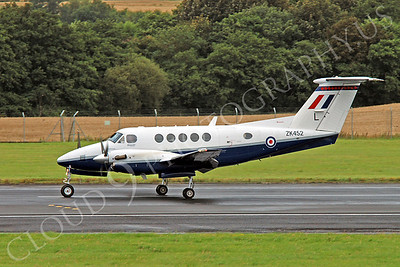British RAF  Beech King Air Military Airplane Pictures