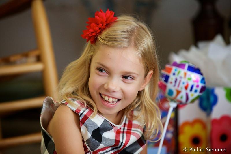 Audree, the birthday girl
