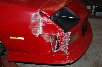 Wrecked Car - Jan 22, 2008