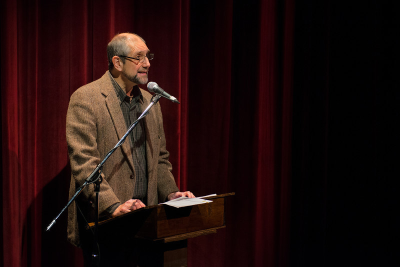 Stephen Russell, December 1, 2012, Wellfleet Harbor Actors Theater [photo by Michael and Suz Karchmer]