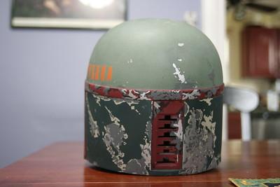 Boba Fett Helmet - ESB Paintup #2