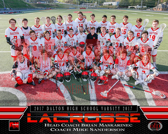 A2 - DALTON LACROSSE TEAM PHOTO 2017