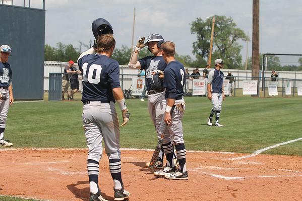 2014 Class 3A baseball regional: Marlow, Sulphur, Davis