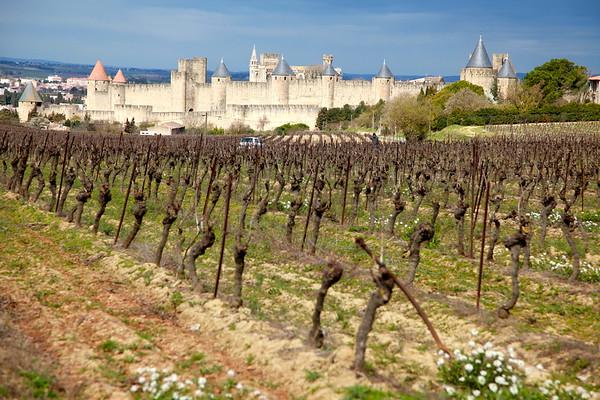 Carcassonne, Nime, Beziers, Pont du Gard, Avignon