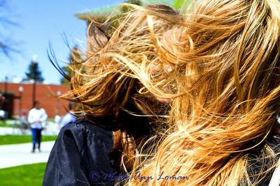 May 2011 windy graduation day - misc photos