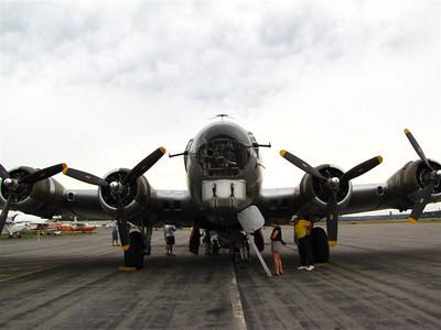 Aluminum Overcast, Boeing B-17 Bomber