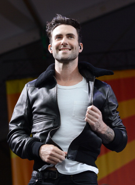 . NEW ORLEANS, LA - MAY 03:  Adam Levine of Maroon 5 performs during the 2013 New Orleans Jazz & Heritage Music Festival at Fair Grounds Race Course on May 3, 2013 in New Orleans, Louisiana.  (Photo by C Flanigan/FilmMagic)