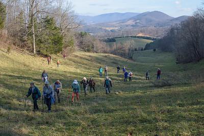Dec. 10, 2015 hike - Farrier Farm