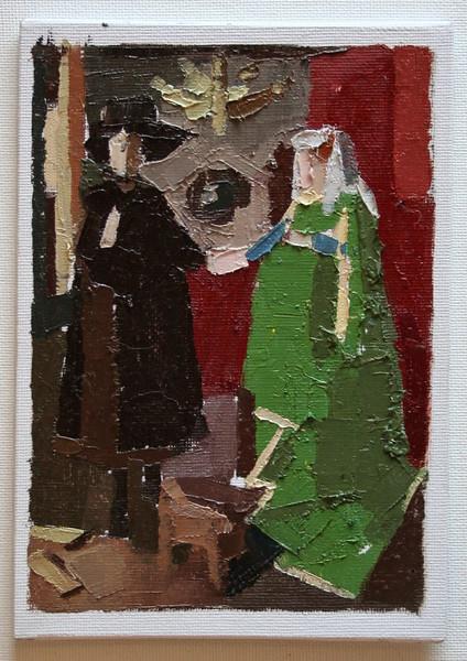 Aschely Cone after Van Eyck