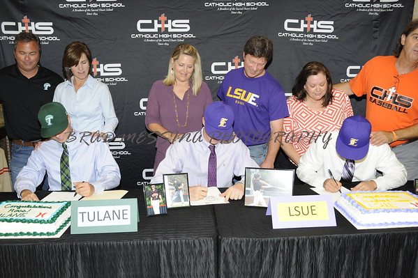 Baseball Signing
