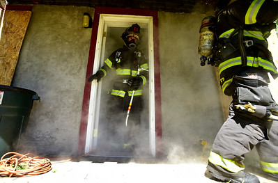 Photos: Lafayette Fire Department Structure Fire Training