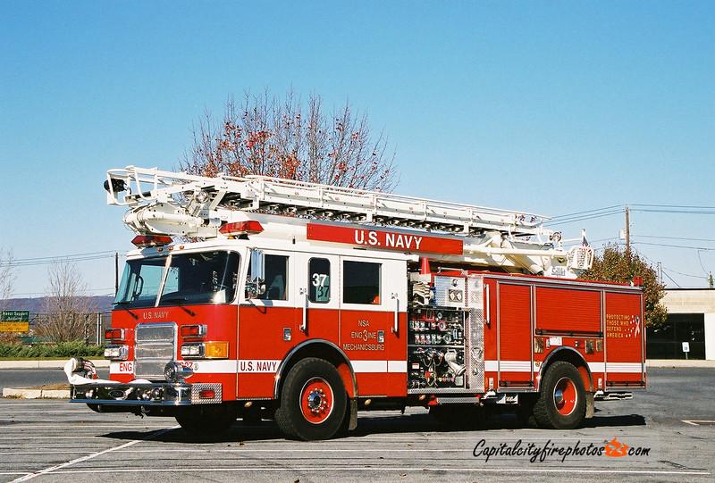 Mechanicsburg Naval Region Engine 3-37: 2004 Pierce Enforcer 1500/500/25/50 65'