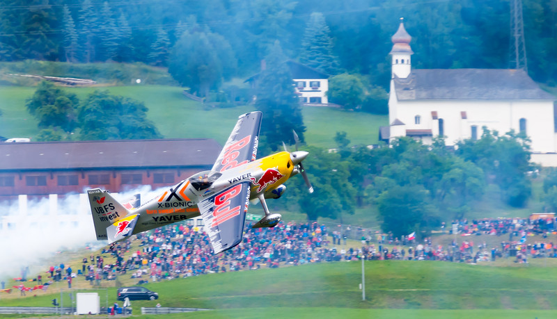 Air Show at Formular 1 Race in Spielberg, Austria