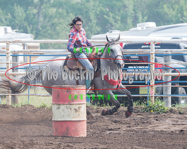 Elkwater 2015 Barrel Racing Slack
