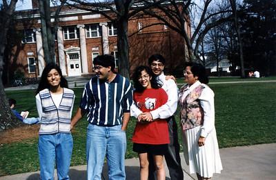 Sanjeev's Family visit UGA