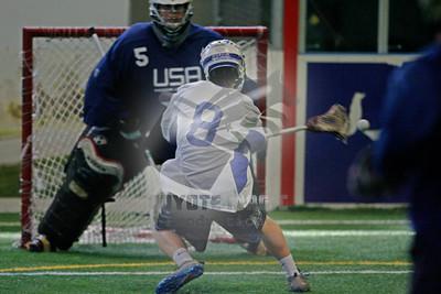 6/14/2015 - U19 Men's Indoor Scrimmage - Israel vs. USA - United Sports, Downington, PA (Philadelphia Showcase)