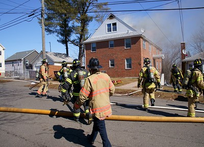 2-Alarm Structure Fire - 16 Whitman St., New Britain, CT. 3/8/21