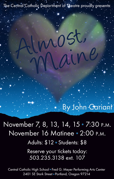 Fall 2014 - Almost, Maine