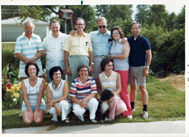 1978 Doc, Dean Lashbrook, Archie Gillespie, Ben Bennett, Lula, Lloyd; Viv, Eileen, Wilma and Sandy.jpeg