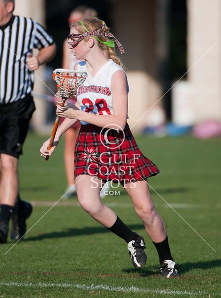 2011-03-10 Lacrosse 7th Girls River Oaks Baptist @ St. John's School