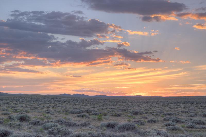 Rawlins, WY Sunset