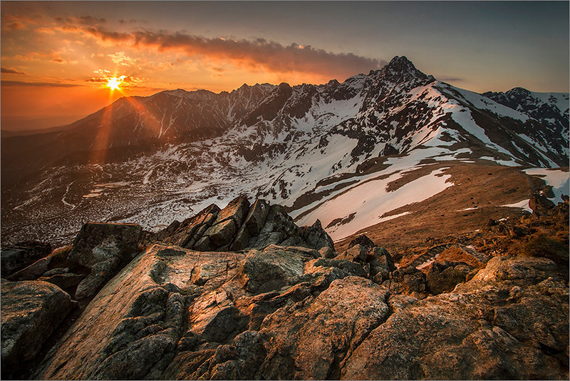 Sunrise in the Tatra Mountains I