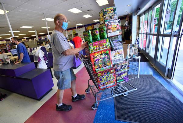 Buying fireworks - 062420