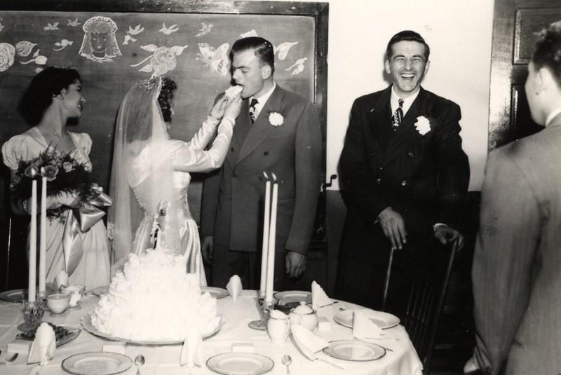 Doris York, Patricia, Elwin, Bob Erickson, Harry Potwin