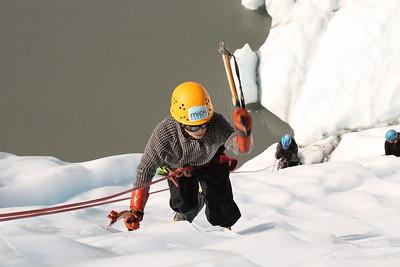 Ice Climbing with Tex