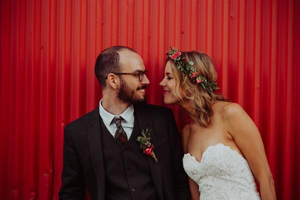 Danielle & Eliot / Wedding / Chloe's at Golden Road Brewing Los Angeles CA