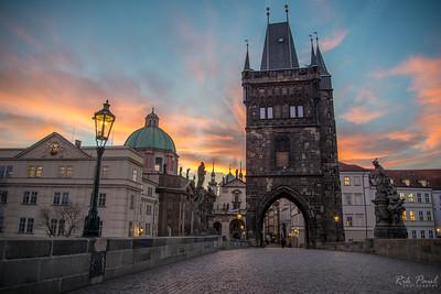 Prague ... a bridge to history