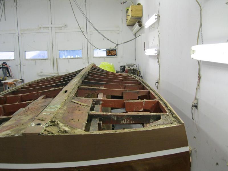 Port side bottom removed.