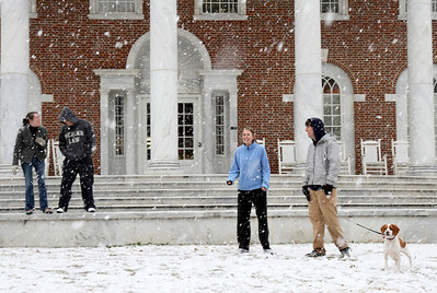 Snow on Campus February 2010