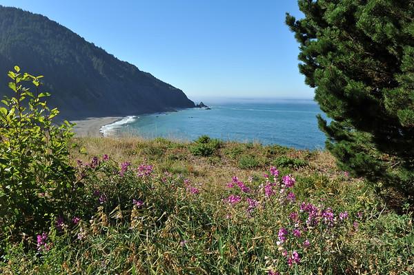 Various Sights and Overlooks Along Coastline