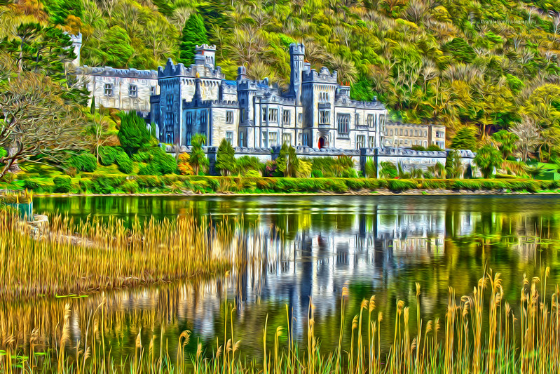 Kylemore Abbey oil.jpg