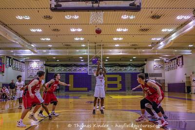 Boys Varsity Basketball vs Mills Godwin 12/28/16