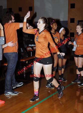 10-27-2015 - Verrado at Desert Edge - Varsity Volleyball