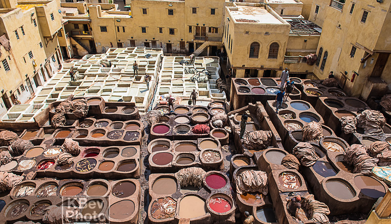 Morocco - People, Streets, Markets (Apr 17)